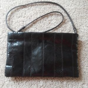unbranded Bags - Cross Body Bag Patent Black Leather  👜👠